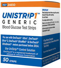 Unistrip Test Strips Blood Glucose Diabetes One Touch Ultra X2 PAIR