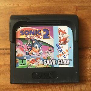 LOOSE Sonic the Hedgehog 2 Tails Sega GAME GEAR