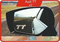 Audi TT logo  autocollant stickers X 2 - couleur au choix