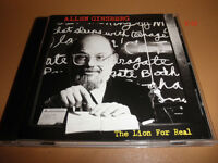 ALLEN GINSBERG poet CD the LION IS REAL xmas gift SCRIBBLE aunt rose SUNSET