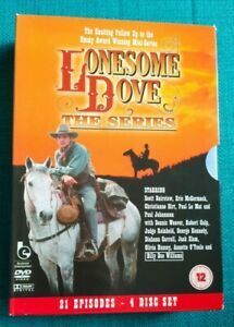 Lonesome Dove The Series DVD Boxset Contains Slip Case Very Good Condition