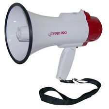 Pyle-Pro Professional Megaphone Bullhorn with Siren and Voice Recorder Pmp35R