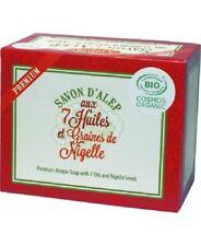 Savons d'Alep premium aux 7 huiles et aux graines de Nigelle Bio - Alepia #CKDB