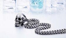 Ketting met skull schedel, Necklace with skull, Halskette mit Schädel skull