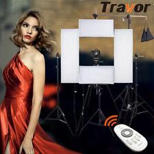 Travor Flexible LED Video Lighting Panel Studio Camera Photography Light Kit Set