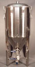 SS Brewing Tech 17 Gallon Conical Fermenter Stainless Fermentor Half Brew Bucket
