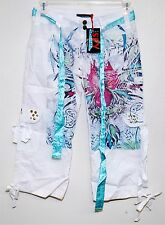 SPY ZONE EXCHANGE BOUTIQUE WOMENS CAPRI PANT HANDCRAFTED CELEBRITY SIZE 12