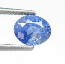 2.54Ct Wonderful Blue Oval cut  8x7mm Fine Natural Sri Lanka Blue Sapphire