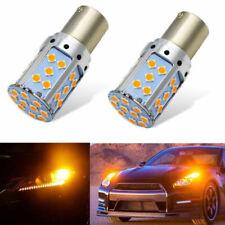 1* Error Free Amber 35W BA15S 1156 3030 P21W LED CREE Bulb Turn Signal Light 12V