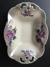 Russian/USSR period/ pearl lustre porcelain, plate for salad or fruit