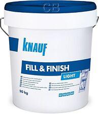 Knauf SHEETROCK Fill&Finish Light 20kg Spachtelmasse Trockenbau Fugenspachtel