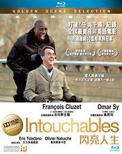 "François Cluzet ""Intouchables"" Omar Sy 2011 France Comedy Drama Region A Blu-Ray"