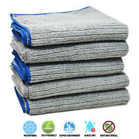 Towelogy® Pack Of 6 Microfibre Dish Cloths Scrubber Waffle Weave Thick 30cmx40cm