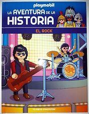 El Rock; Libro nº 54 de la coleccion; Playmobil La Aventura la Historia