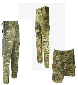 GENUINE BRITISH ARMY MTP & BTP TROUSERS SHORTS MULTICAM COMBAT CAMOUFLAGE CAMO