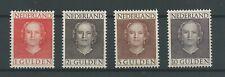 Nederland  534-537 julian EN FACE  MH/ongebr  CV 500  €  Pracht !!
