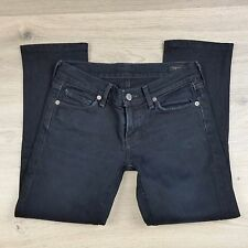 Citizens of Humanity Black Capri Stretch Women's Jeans Size 25 W27 L24 (J5)