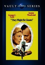 They Might Be Giants 1971 (DVD) George C. Scott, Joanne Woodward - New!
