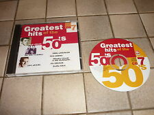 *COMPIL GREATEST HITS OF THE 50'S CD EU LOUIS PRIMA GENE VINCENT LES BROWN