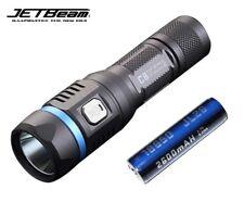 New Jetbeam C8 PRO Luminus SST40 1200lm USB Charge LED Flashlight ( With 18650 )