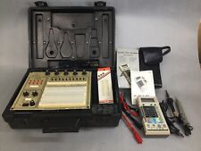 Elenco Analog/Digital Trainer Model XK-525 + Scope DVM-368 EUC Works Tested