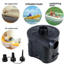 Electric Quick Fill Cordless Rechargeable Inflatable Air Bed Pump  Camping
