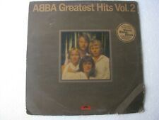 Abba Greatest Hits vol2 World LP Record India-1832