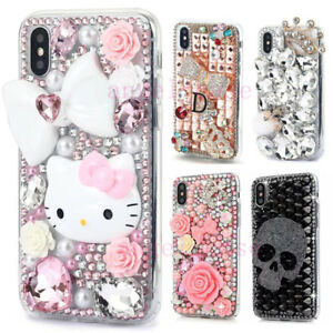 Luxury Bling Diamond Rhinestones Jewelled Case Cover for iPhone 12 Pro Max 11 XR