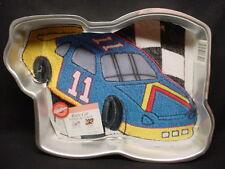 Wilton RACE CAR cake pan AUTO TRACK RACING baking mold tin INSERT Birthday DAD