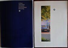 BMW 7 Series 1994 1995 UK Market prestige brochure pack - with 750iL folder E32