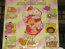 VHS Release 1981 Vintage Strawberry Shortcake Movie Poster In Big Apple City