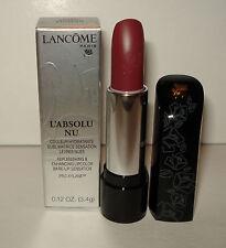 Lancome L'Absolu  NU ~ 3389 Rouge Resille  Lipstick NIB