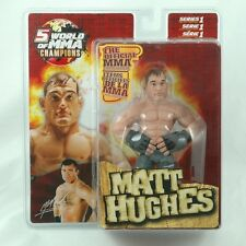 2007 Round 5 World of MMA Champions - MATT HUGHES Action Figure