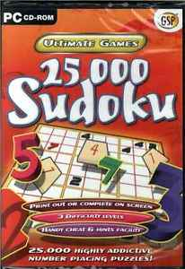 25,000 Sudoku, Highly Addictive Number Placing Puzzles Ultimate PC Game NEW