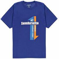Lambretta Graphic T Shirt Mens Gents Crew Neck Tee Top Short Sleeve Cotton