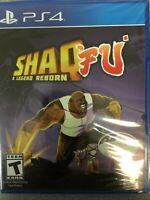 Shaq Fu: A Legend Reborn (PS4, Sony PlayStation 4, 2018) PS4 NEW