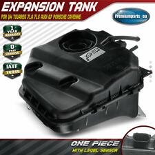 Radiator Coolant Expansion Tank w/ Sensor for VW Touareg Audi Q7 Porsche Cayenne