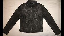 Biker Basic BLACK Leather Jacket-Butter Soft High Quality