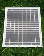 Panel Solar De 36V 10 Vatios, Para Carga De Batería 24V, puertas, persianas eléctricas, Libre P&P