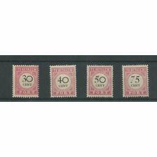 Ned. Indie P19-22  Port  1892 MH/ongebr CV  135 €