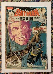 BATMAN #234 - AUG 1971 - 1st SILVER AGE TWO-FACE APPEARANCE! - GD (2.0) RARE!!!