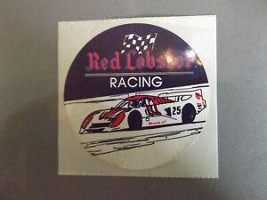"3"" CIRCULAR STICKER - RED LOBSTER RACING - IMSA"