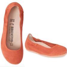 Birkenstock Celina Suede Ballet Flat in Coral 38 US Size 7-7.5 Shoes Comfort