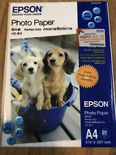 Epson Photo Paper A4 Glossy 20 Sheets SO42187