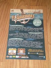 """FORECASTLE 2013 promo poster THE AVETT BROTHERS ROBERT PLANT OLD CROW  11""""X17"""""""