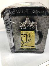 New listing Game Of Thrones Baratheon House Stein Read Description