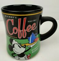 Mickey Mouse Collector Theme Parks Really Swell Minnie Coffee Mug Black & Green