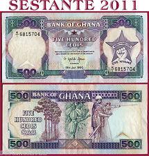 GHANA   -   500 CEDIS  19.7. 1990   - P  28b    -    SPL+ / XF+