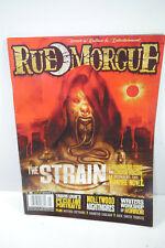 Rue Morgue Booklet 92/2009 Magazine Magazine Horror the Strain (WR8)