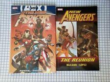2 GN lot: New Avengers vol 4 HC AvX & New Avengers The Reunion ~ New Unread